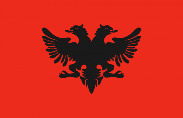 Pictures of the flag of Albania