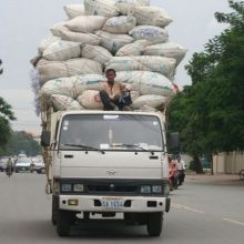 Overloaded cars