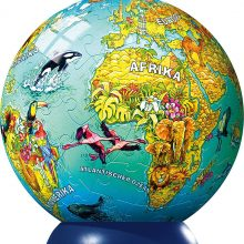 Earth globe for kids