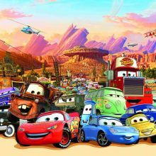 From the cartoon Cars