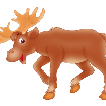 Elk for children